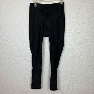 Canari padded cycling pants zip bottom women's L
